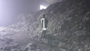 Akçakale Yolundaki Çırçır Fabrikasında Yangın