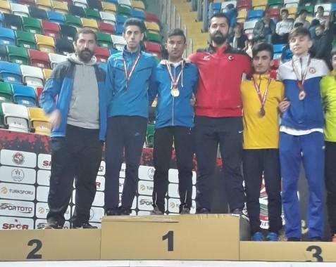 Atlet Tekin, Türkiye şampiyonu oldu