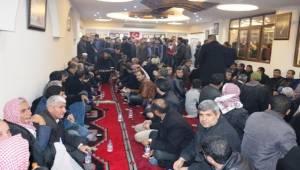 Ayhan Binlerce Akçakaleli Tarafından Karşılandı