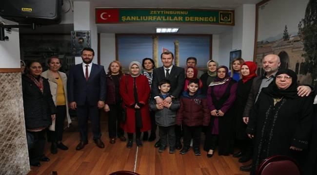 Başkan Arısoy Urfalı Seçmenlerle Bir Araya Geldi