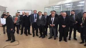 BM Temsilcilerinden GAPYENEV'e ziyaret