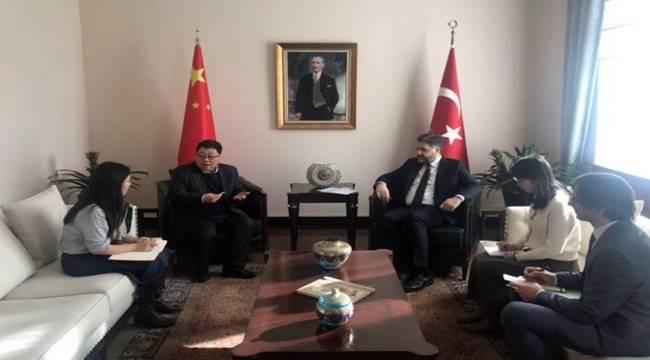Büyükelçi Önen Çin İle İlişkileri Sürdürüyor