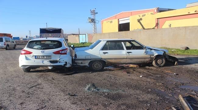 Buzlanan Yolda Zincirleme Kaza 1 Yaralı