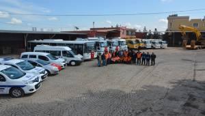 Ceylanpınar Belediyesi Araç Filosuna 43 Yeni Araç Kattı