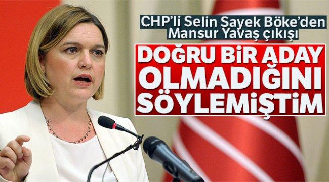 CHP'li Böke Mansur Yavaş'ın Adaylığı İle İlgili Konuştu