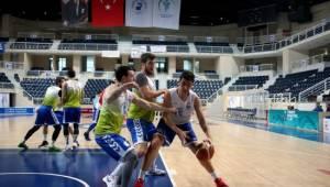 Denizli Basket'te Haliliye maçı hazırlıkları tamamlandı