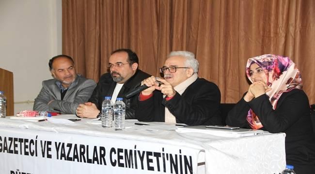 Gazeteciler ve Yazarlar Cemiyeti Seminer Düzenlendi