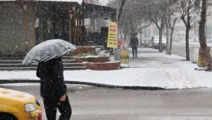 Gaziantep'te Kar Yağışı
