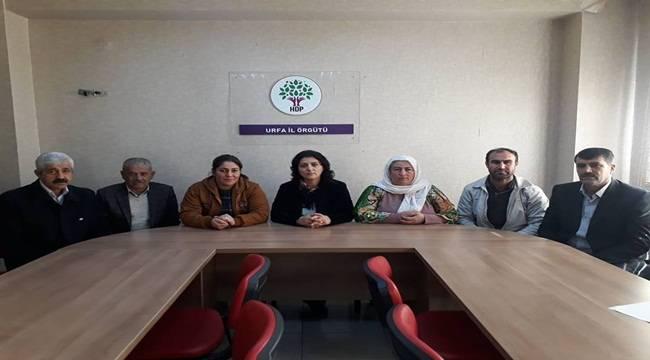HDP Şanlıurfa Eş Başkanı Aliye Kızıldamar Tutuklandı