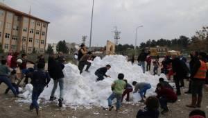 Kar Kamyonları Eyyübiye'deydi