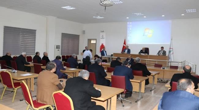 Karaköprü'de 2019 Yılının İlk Toplantısı Gerçekleşti
