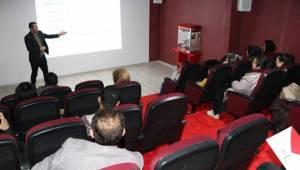 Karaköprü'de Girişimci Adaylarına Eğitim Veriliyor