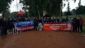 Mehmet Akif İnan Adana'da Yürüyüş İle Anıldı