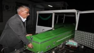 Öldürülen Tır Sürücüsünün Cenazesi Morga Kaldırıldı