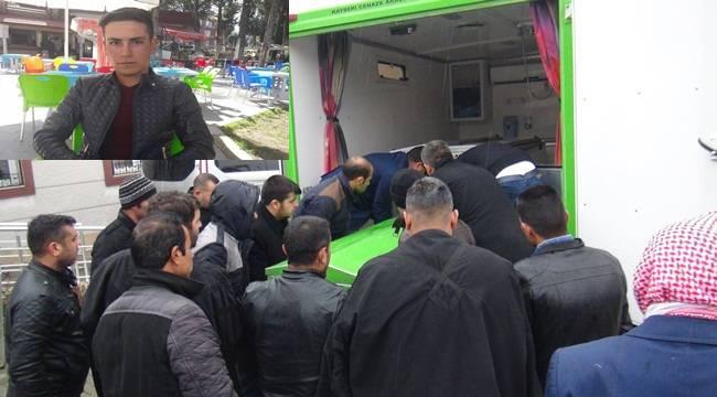 Genç Sürücüsünün Cenazesi Yakınlarına Teslim Edildi
