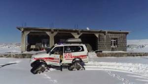 Paletli Ambulanslar 7 Gün 24 Saat Hizmet Veriyor