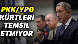PKK ve YPG Kürtleri Temsil Etmiyor