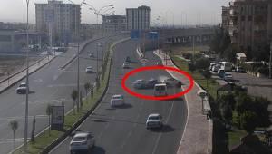 Şanlıurfa'da Kazalar Polis Kamerasında