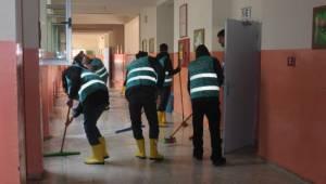 Siverek'te mahkumlar eğitime katkı sunuyor