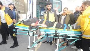 Siverek'te Ticari Araç Takla Attı 6 Yaralı