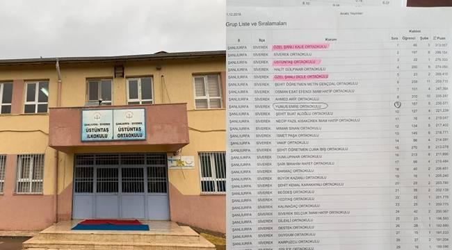 Siverek'teki Köy Okulunun Başarısı Koleji Geçti