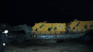 Tank ve ZPT'ler Şanlıurfa'ya Ulaştı