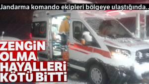 Tokat'ta define arayan 4 kişiden 1'i hayatını kaybetti