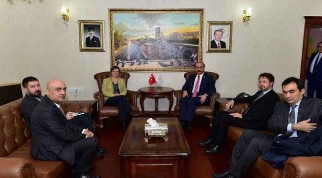 UNDP Başkan Yardımcısı Şanlıurfa'da