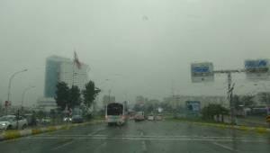 Urfa'da Yağmur ve Sis Etkili Oluyor