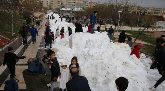 Urfalılara Kar Sürprizi