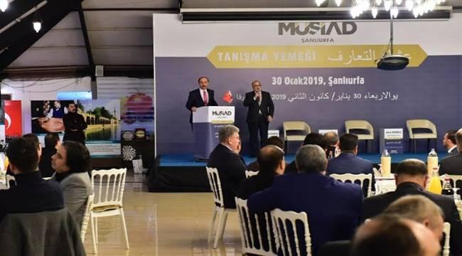Vali Erin Arap İş Dünyası Tanışma Yemeğine Katıldı