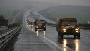 Zırhlı Araçlar Şanlıurfa'ya Gelmeye Devam Ediyor