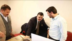 AK Başkan Yıldız SKM'de