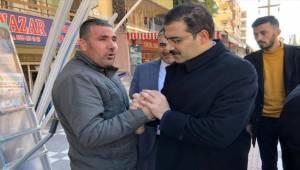 AK Parti Adayı Canpolat Esnafla Bir Araya Geldi