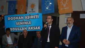 AK Parti Ceylanpınar'a Katılımlar Devam Ediyor