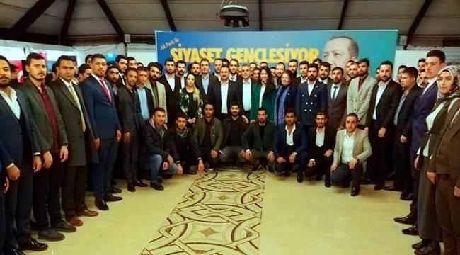 Urfa'da AK Parti ile Siyaset Gençleşiyor