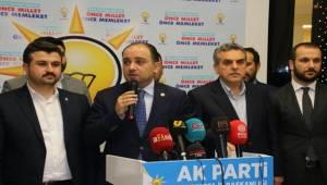 AK Parti Şanlıurfa Meclis Üyelik Listelerini Teslim Etti