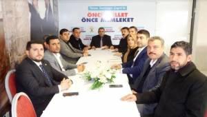 AK Parti Şanlıurfa SKM'de Çalışmalar Hız Kazanıyor