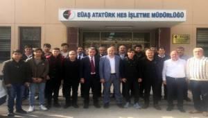 Aksoy EUAŞ'ı Ziyaret Etti