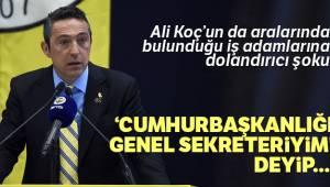 Ali Koç'u 10 Bin TL Dolandırdı