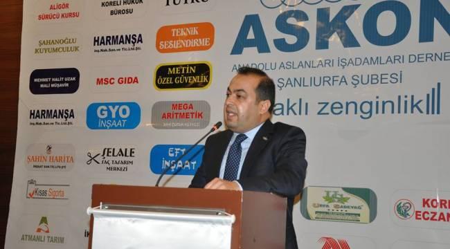 ASKON Urfa'daki Siyasileri Eleştirdi
