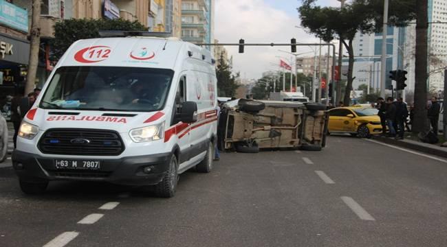 Atatürk Bulvarında Kaza 3 Çocuk Yaralandı