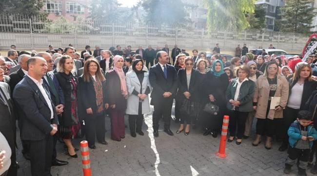 Bahçelievler Sağlıklı Yaşam Kadın Merkezi Açıldı