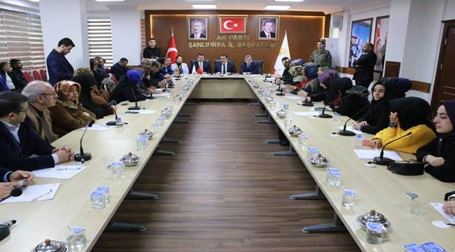 Bakan Dönmez AK Teşkilat Üyeleri İle Bir Araya Geldi