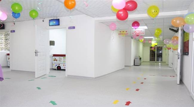Balıklıgöl Devlet Hastanesi Çocuk Acil Servisi Revize Edildi