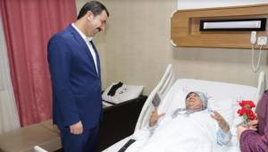 Baydilli'den Hastalara Moral Ziyareti