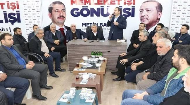 Baydilli Seçim Bürosunda Vatandaşları Ağırlıyor