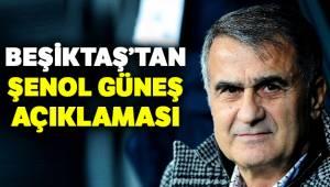 Beşiktaş'tan Şenol Güneş Açıklaması