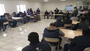 Beyazgül'den Organize Sanayi Esnafına Ziyaret