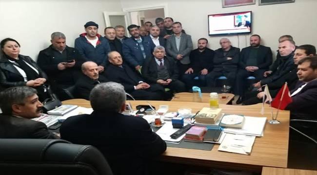 Beyazgül Hür Belediye İş Sendikasını Ziyaret Etti